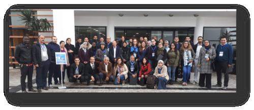 Participants au 7e Cours International de Métagénomique et Bio-informatique, les 5, 6 et 7 décembre 2018, Rabat, Maroc